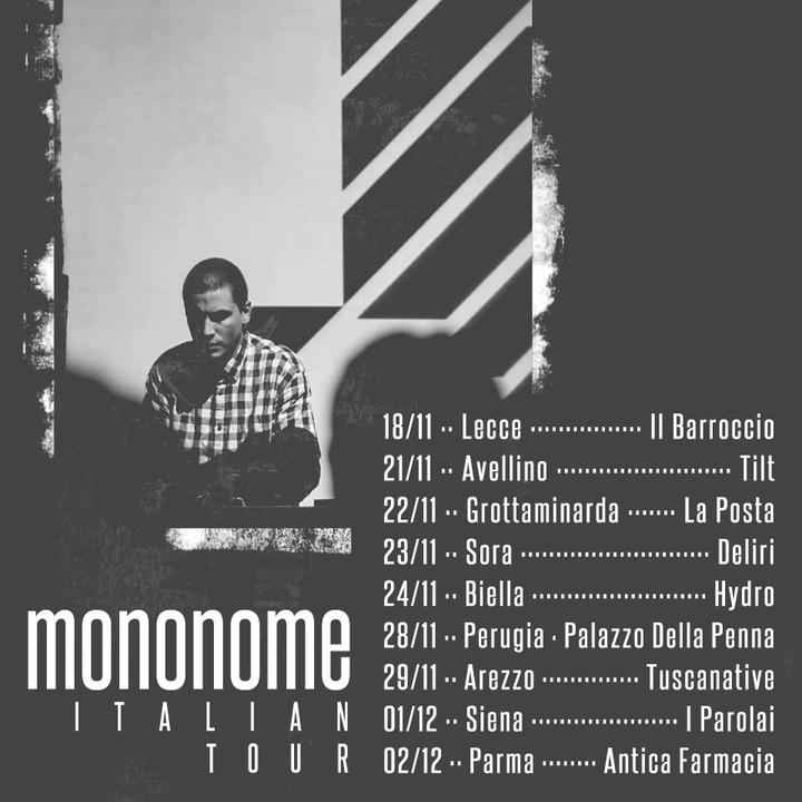 mononome @ Antica Farmacia San Filippo Neri - Parma, Italy