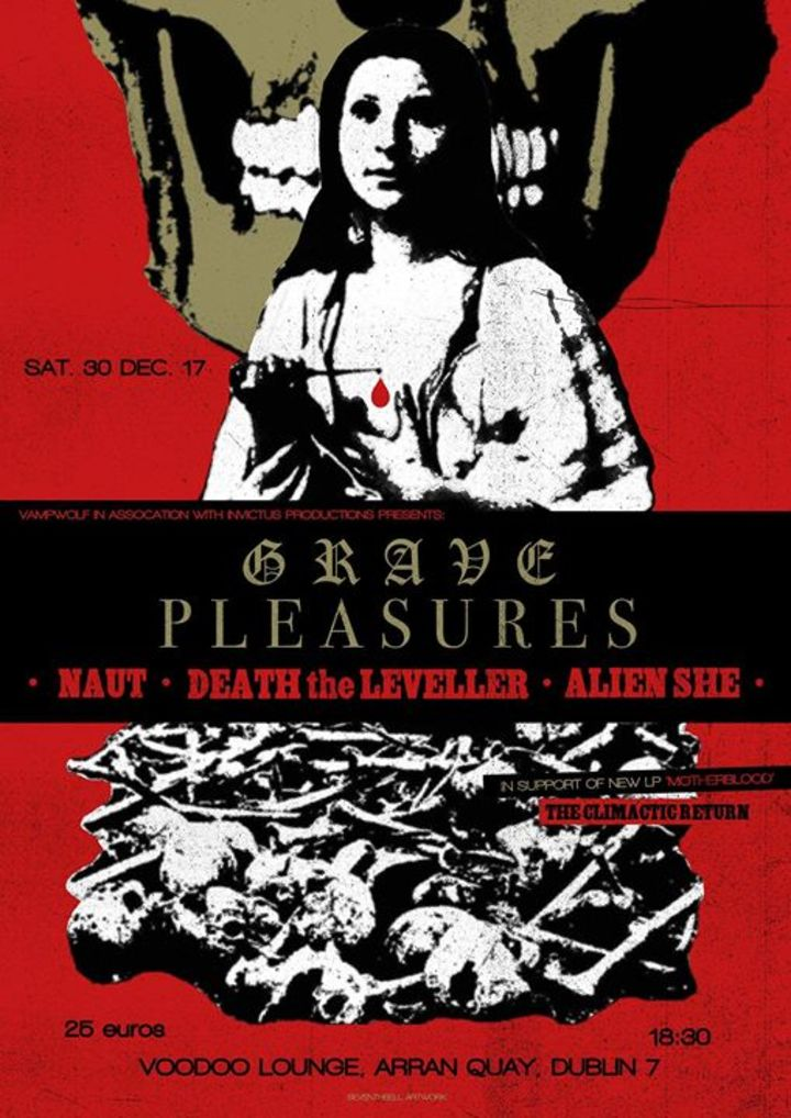 Grave Pleasures @ THE HOPE & RUIN - Brighton, United Kingdom