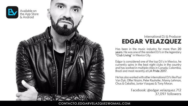 DJ EDGAR VELAZQUEZ Tour Dates