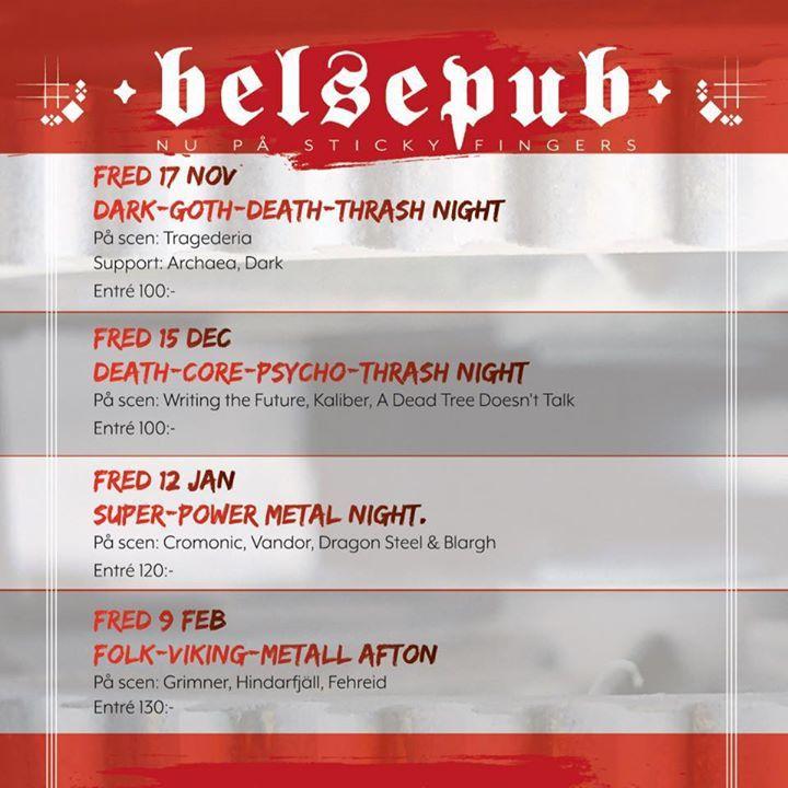 Belsepub Tour Dates