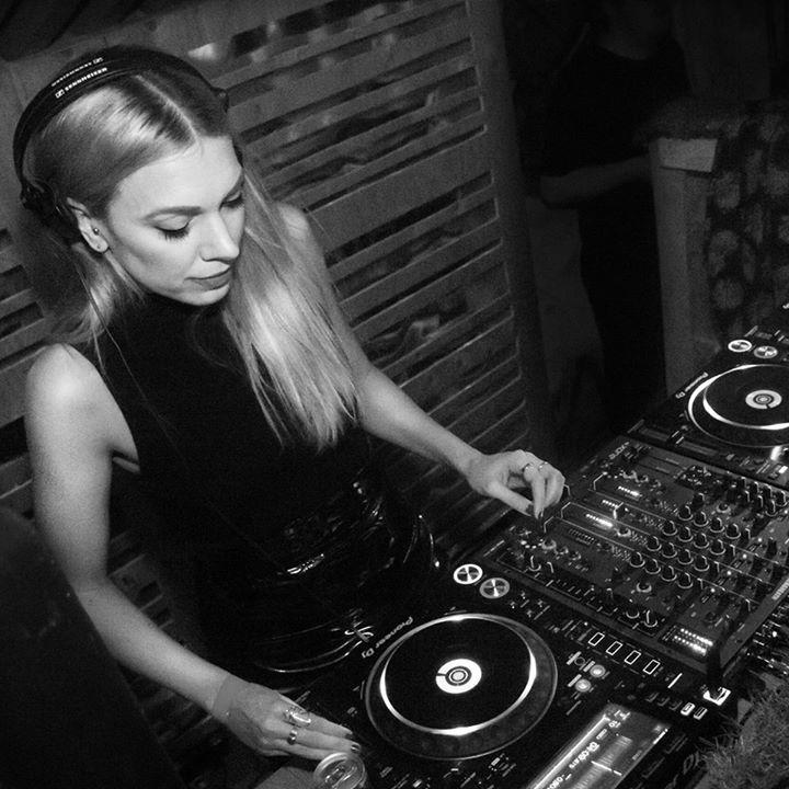 Sandra Mosh @ Swedish national radio - Stockholm, Sweden