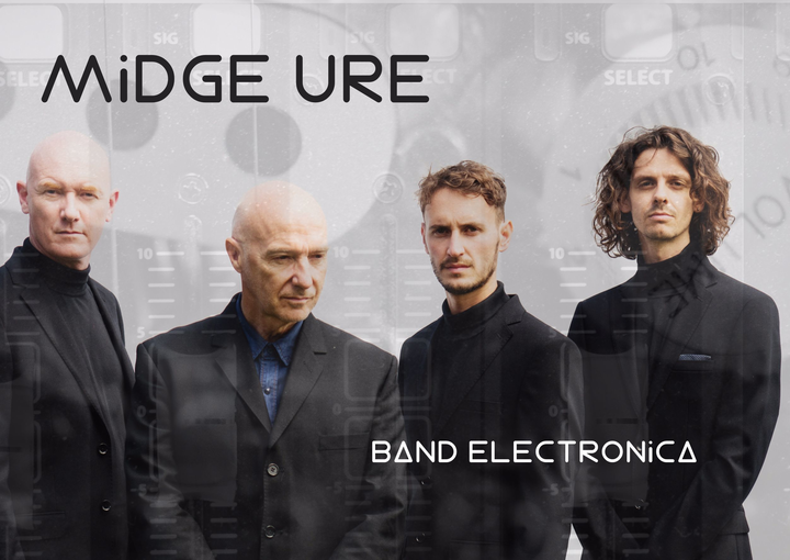 Midge Ure @ Clyde Auditorium - Glasgow, United Kingdom
