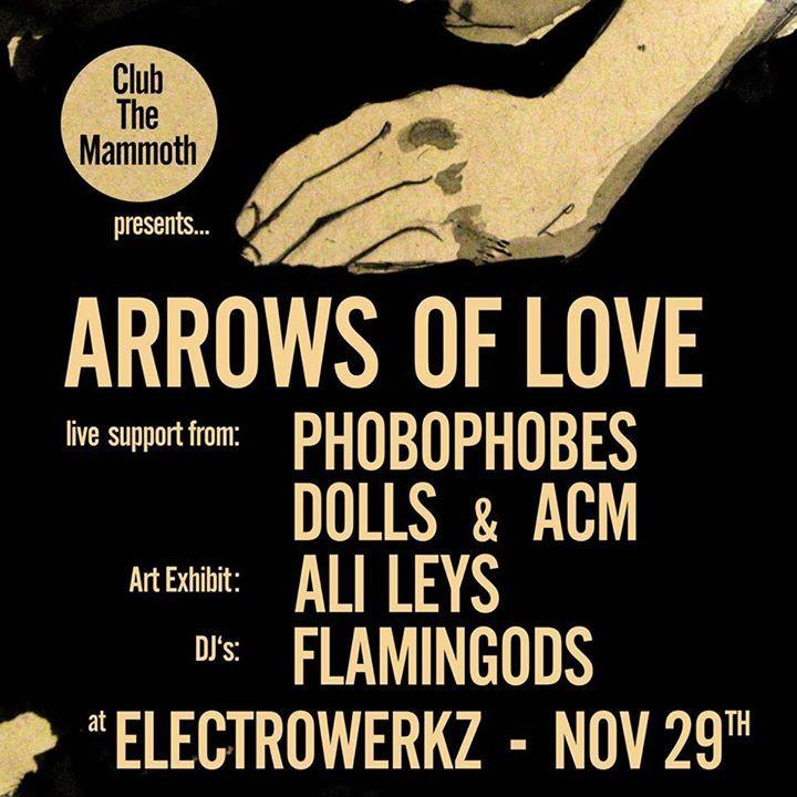 Arrows of Love @ LE P'TIT MINOU - Brest, France