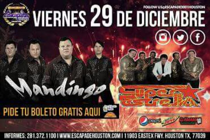 Grupo Mandingo @ Escapade 2001 - Houston, TX