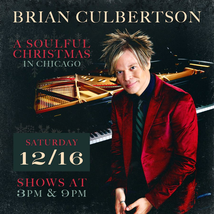 bandsintown brian culbertson tickets christmas show loews chicago ohare hotel 2 shows dec 16 2017 - Christmas Shows In Chicago