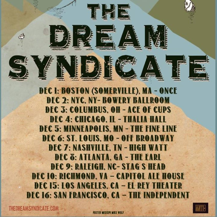 The Dream Syndicate @ Vera - Groningen, Netherlands