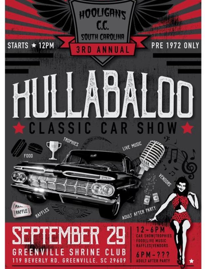 Bandsintown Crazy Man Crazy Tickets Hooligan Hullabaloo Car - Car show greenville sc