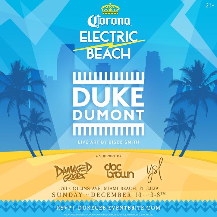 Electric Beach @ HYDE BEACH - Miami Beach, FL