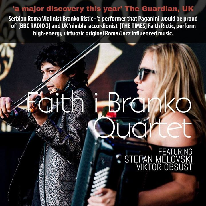 Faith i Branko Tour Dates