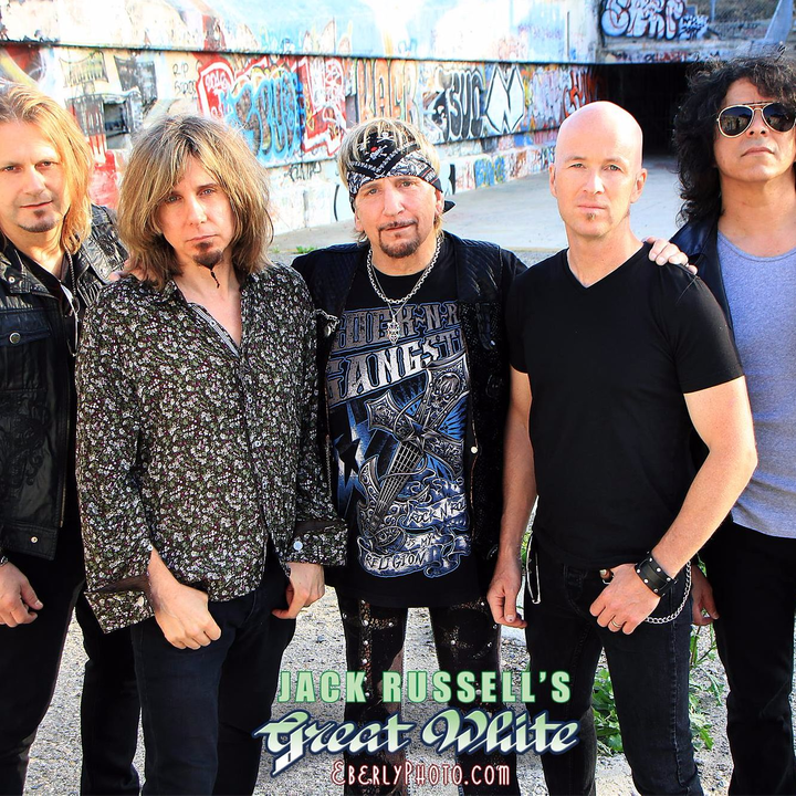 Jack Russell's GREAT WHITE Tour Dates