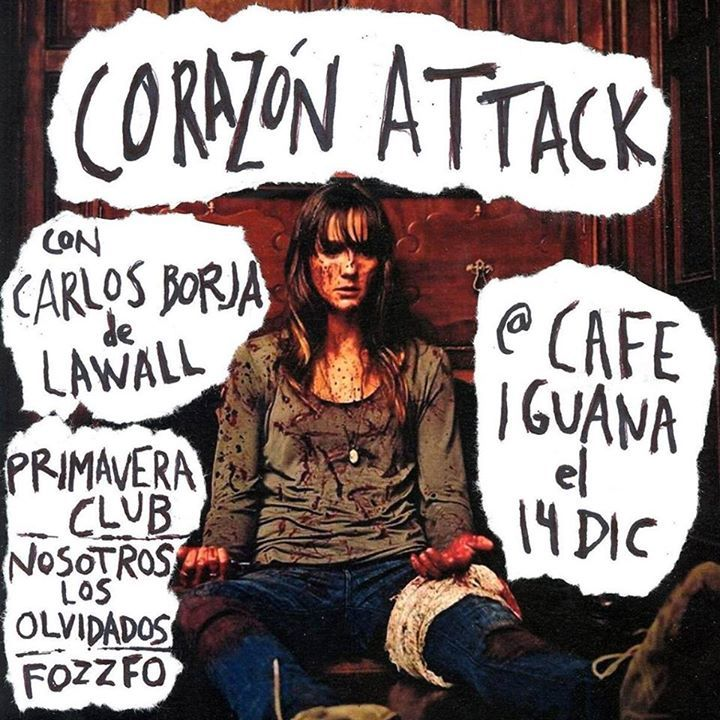 Corazón Attack Tour Dates