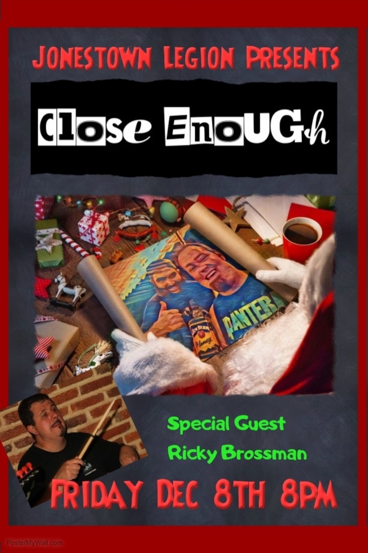 Close Enough Acoustic @ Jonestown Legion - Jonestown, PA