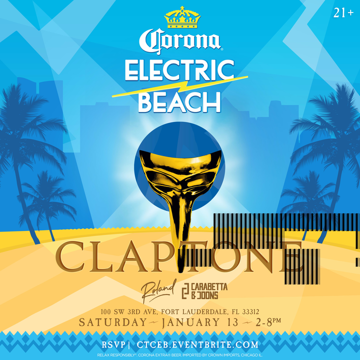 Electric Beach @ America's Backyard  - Fort Lauderdale, FL
