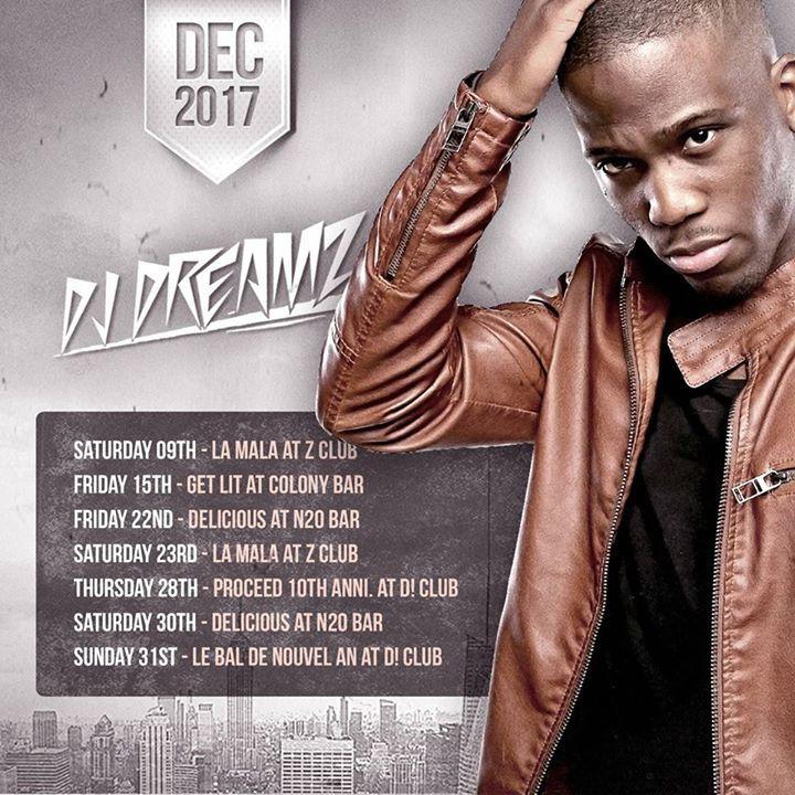 DJ Dreamz Tour Dates