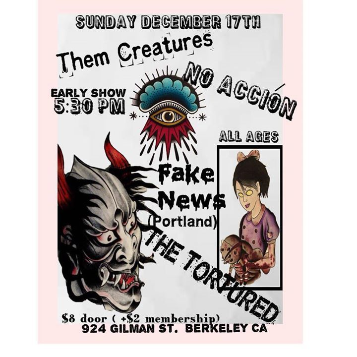 Them Creatures Tour Dates