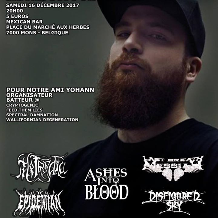 Epidemian Tour Dates