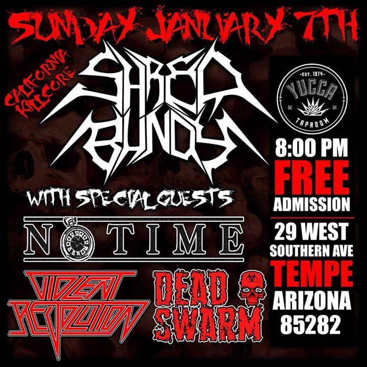 Violent Revolution Tour Dates