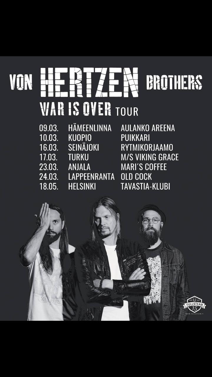 Von Hertzen Brothers Tour Dates 2017 - Upcoming Von Hertzen Brothers Concert Dates and Tickets ...