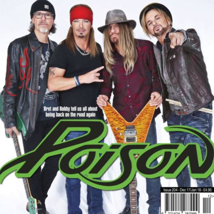Poison's Fallen Angels Tour Dates