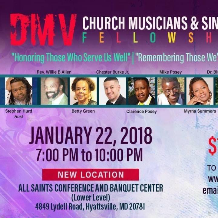 DC Gospel Artists United Tour Dates