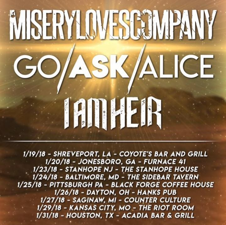 Gates Of Eden Tour Dates
