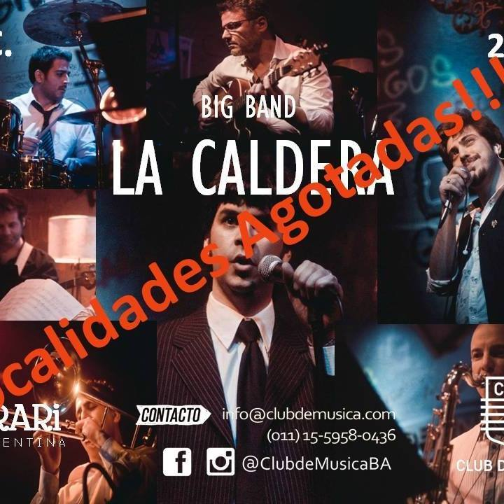 La Caldera Big Band Tour Dates 2019 & Concert Tickets