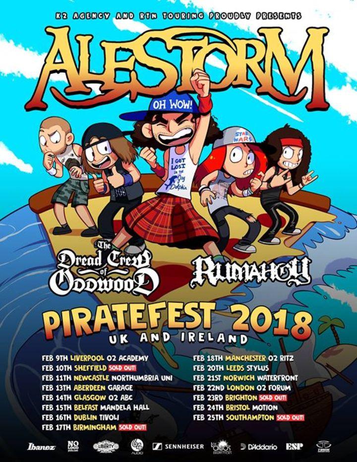 Alestorm Tour Dates 2019 & Concert Tickets | Bandsintown