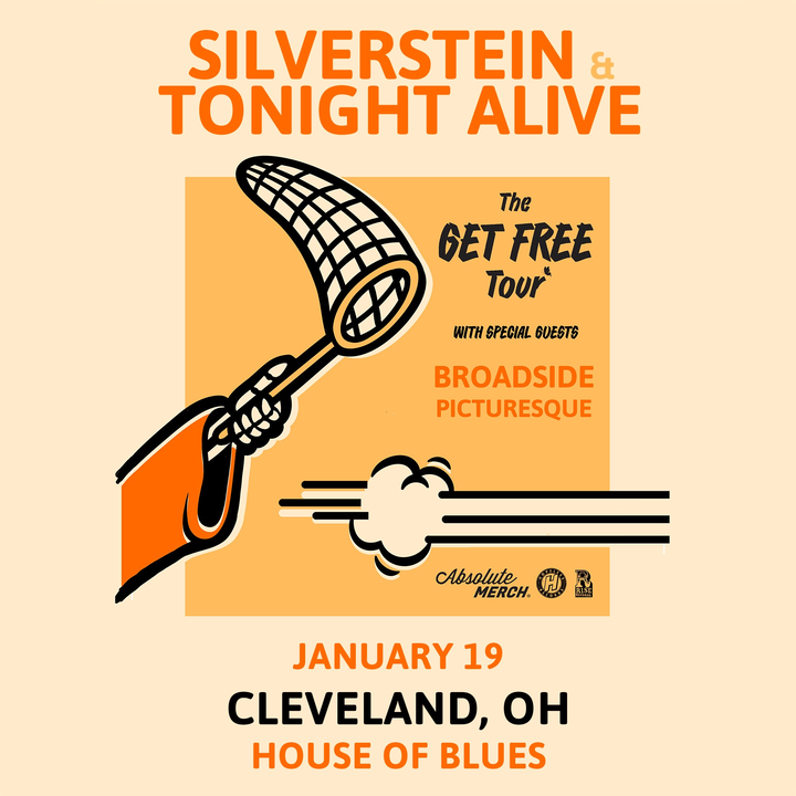 Silverstein @ House of Blues - Cleveland, OH