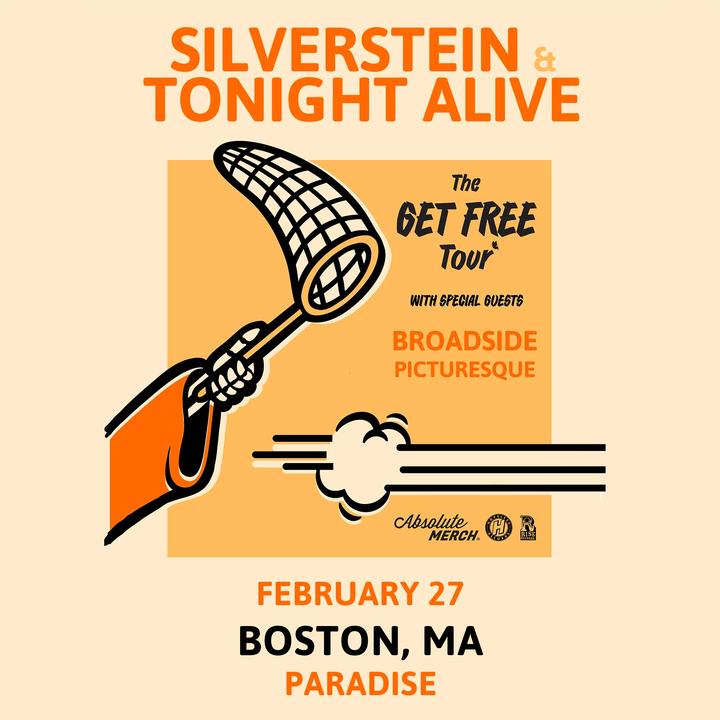 Silverstein @ Paradise - Boston, MA