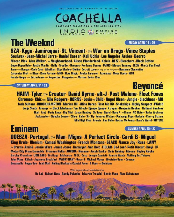 FIDLAR @ Coachella - Indio, CA