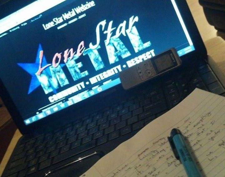 Lone Star Metal magazine @ Acadia Bar & Grill - Houston, TX