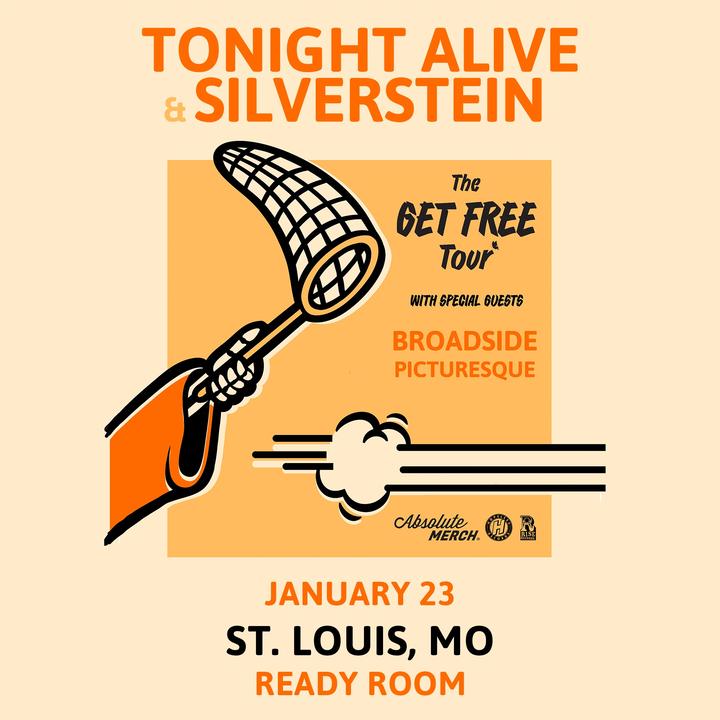 Silverstein @ Ready Room - St Louis, MO