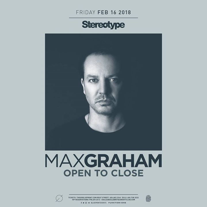 Max graham tour dates 2018 concert tickets bandsintown malvernweather Images