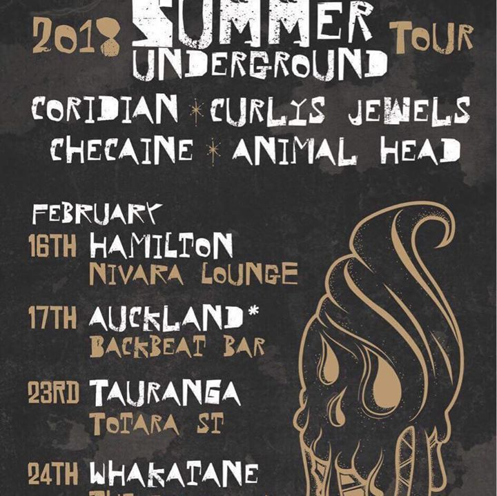 Curlys Jewels Tour Dates