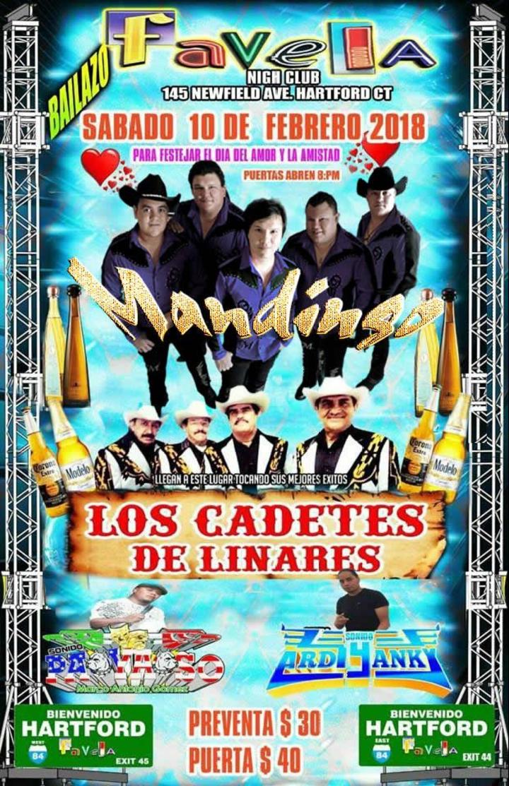 Grupo Mandingo @ Favela Night Club - Hartford, CT