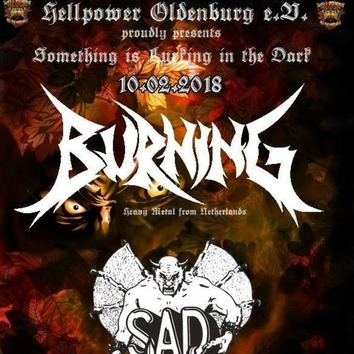 Burning Tour Dates