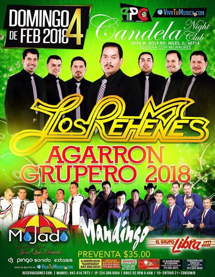 Grupo Mandingo @ Candelas Night Club - Niles, IL