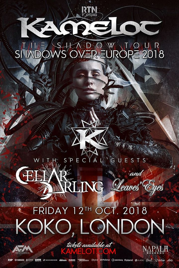 Image result for kamelot london 2018