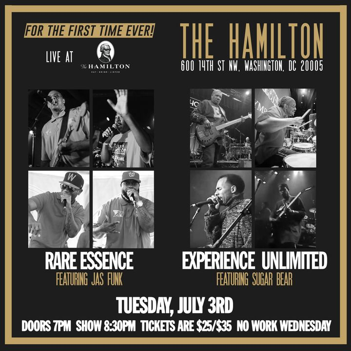 Rare Essence Tickets - Hamilton, Jul 03, 2018