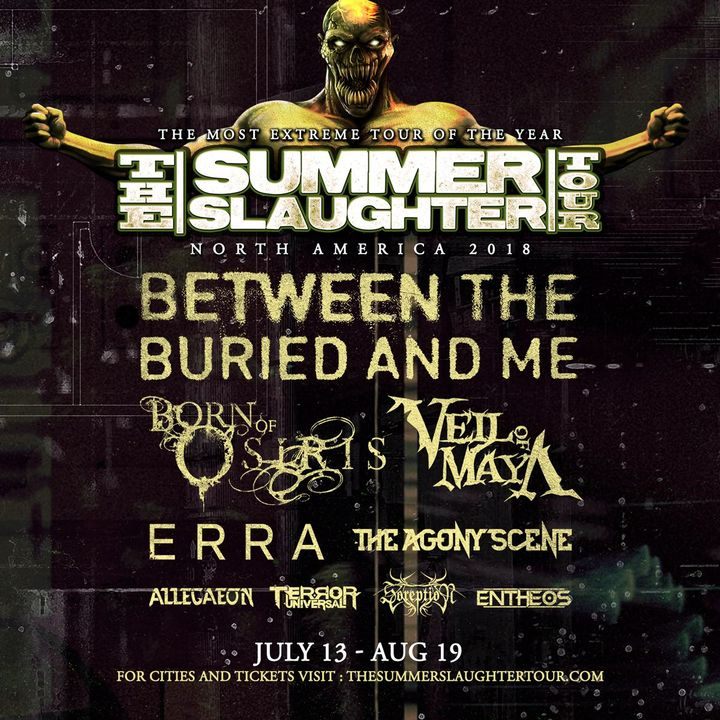 Summer Slaughter Tour The Grove Tickets