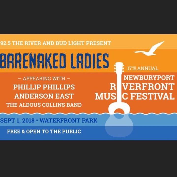 98f52490509 Bandsintown   Aldous Collins Band Tickets - Newburyport Riverfront Music  Festival, Sep 01, 2018