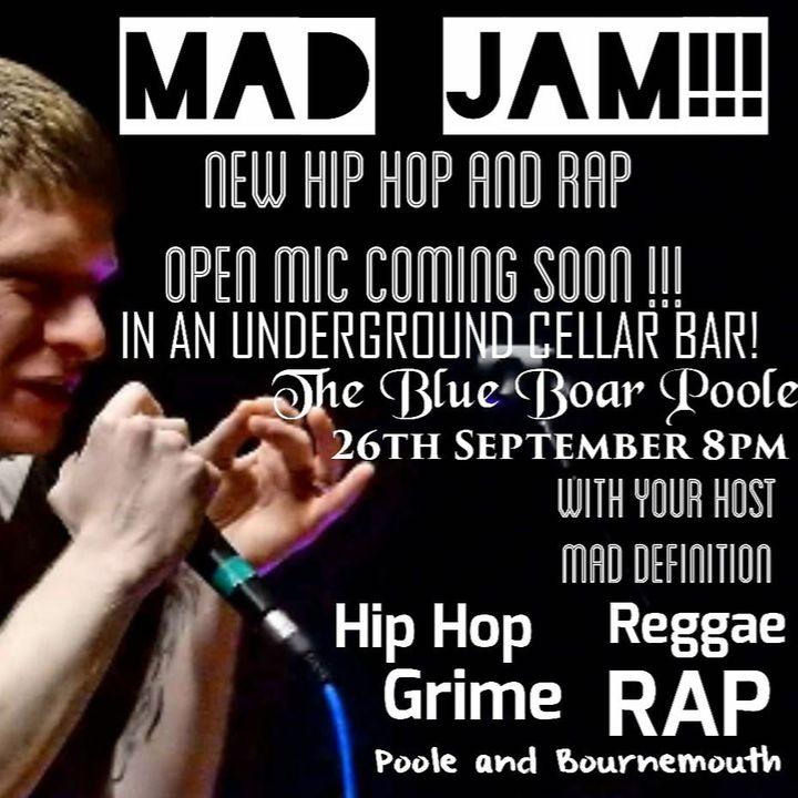 Bandsintown | Mad Definition Tickets - ☆MAD JAM☆- Hip Hop and Rap