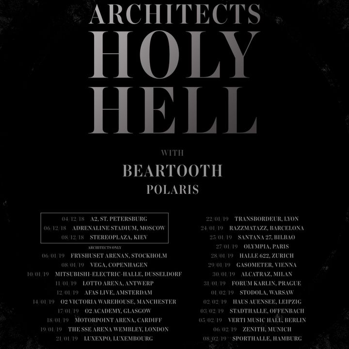 Bandsintown Beartooth Tickets Stadthalle Feb 03 2019