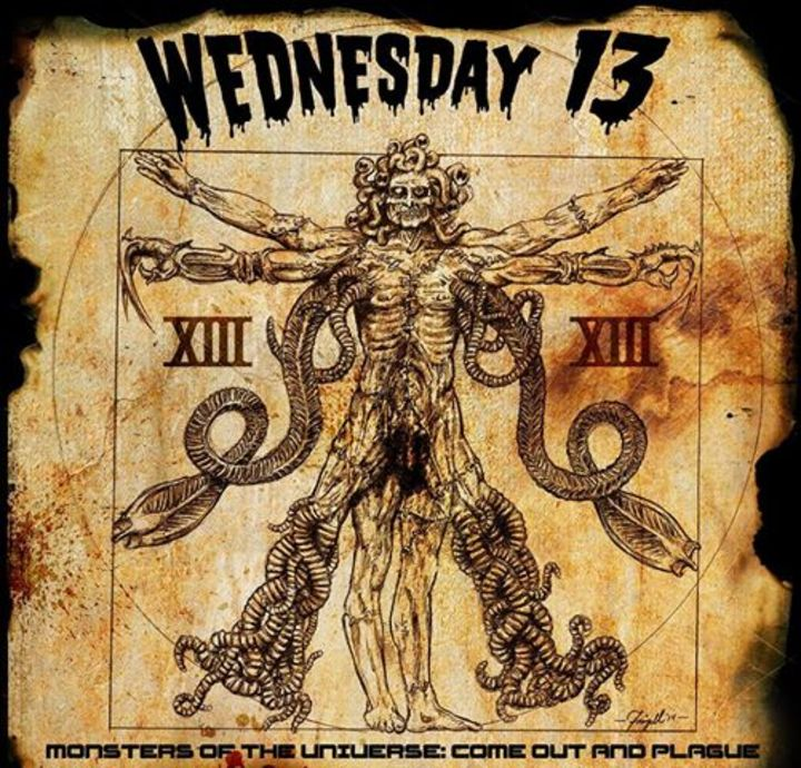 Wednesday 13 @ The Rockpile - Toronto, Canada