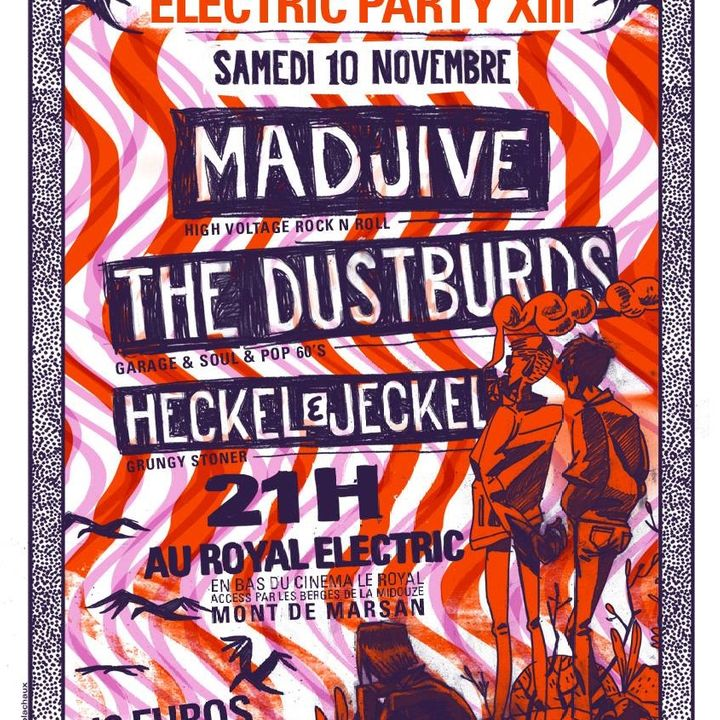 Bandsintown The Dustburds Tickets Madjive The Dustburds Heckel Jeckel Nov 10 2018