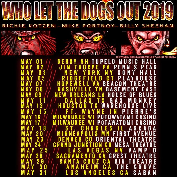 The Winery Dogs Tickets - The Basement East