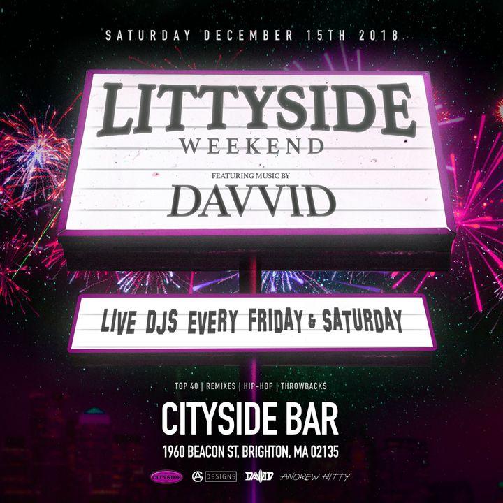Bandsintown | Davvid Tickets - Cityside Bar, Dec 15, 2018