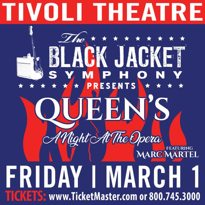 Tivoli Birmingham Al: The Black Jacket Symphony Tickets - Tivoli