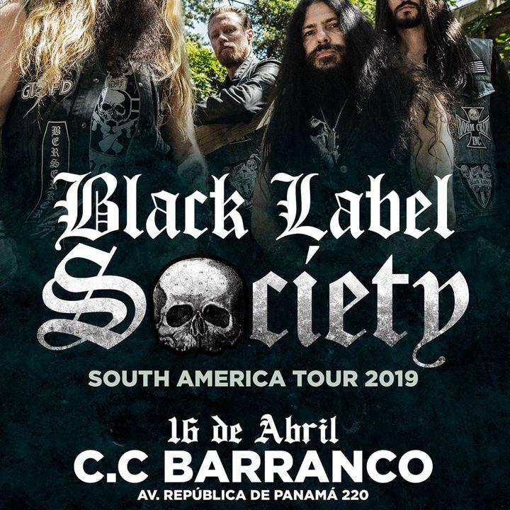Black Label Society Tickets - CC Barranco