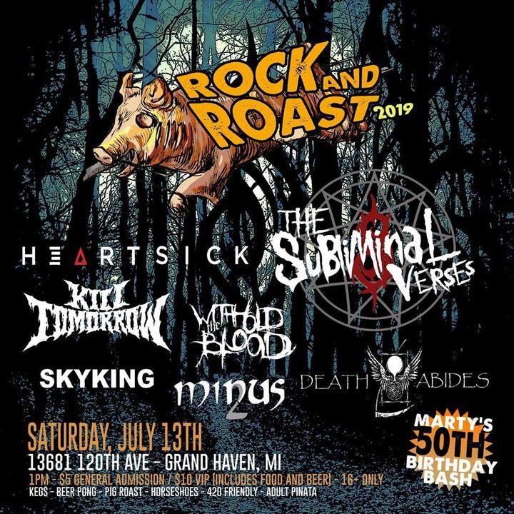 Death Abides Tickets - Rock And Roast, Jul